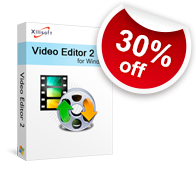 30% off for Xilisoft Video Editor