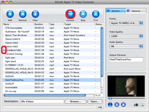 Xilisoft Apple TV Video Converter for Mac