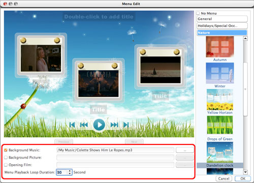 Convert AVI to DVD Mac