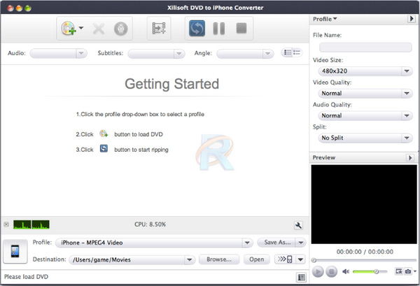 Xilisoft DVD to iPhone Converter for Mac