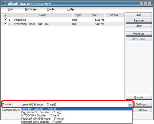 OGG to MP3 Converter, Convert OGG to MP3