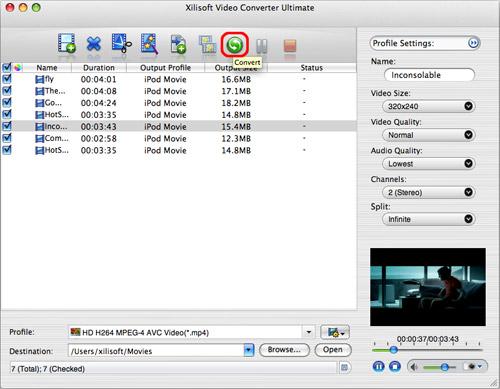 Convert video on Mac, Mac video converter
