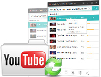 YouTube to MP3 with built-in browser