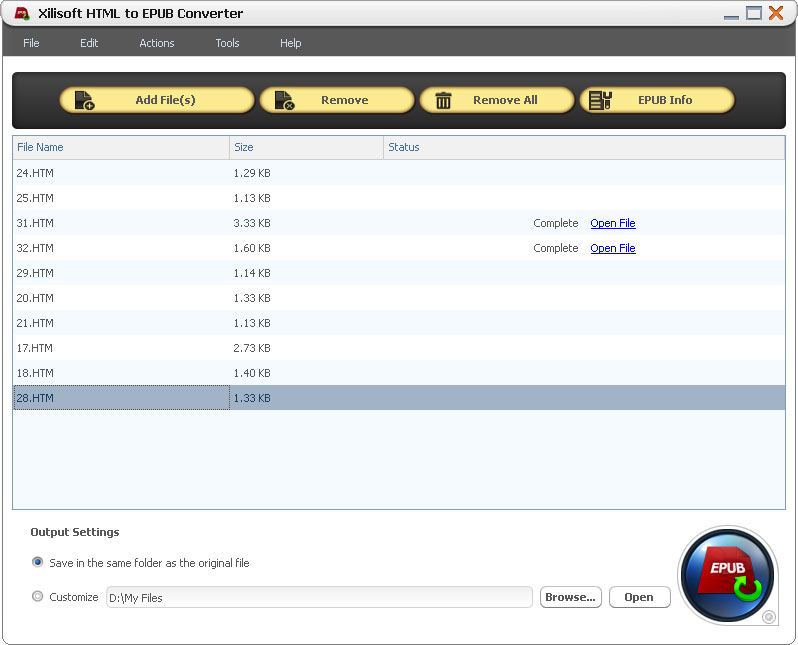 Convert Html To Epub Download Free