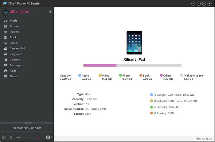 Backup software for ipad