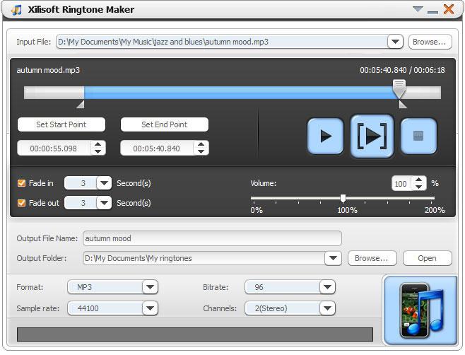 ringtone creator application