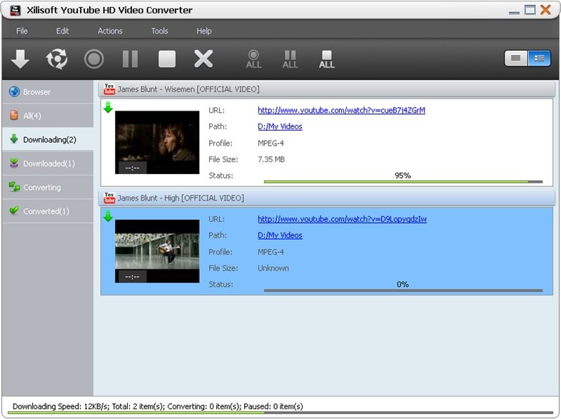 Xilisoft YouTube HD Video Converter