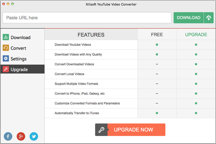 xilisoft youtube video converter for mac screenshot. Black Bedroom Furniture Sets. Home Design Ideas